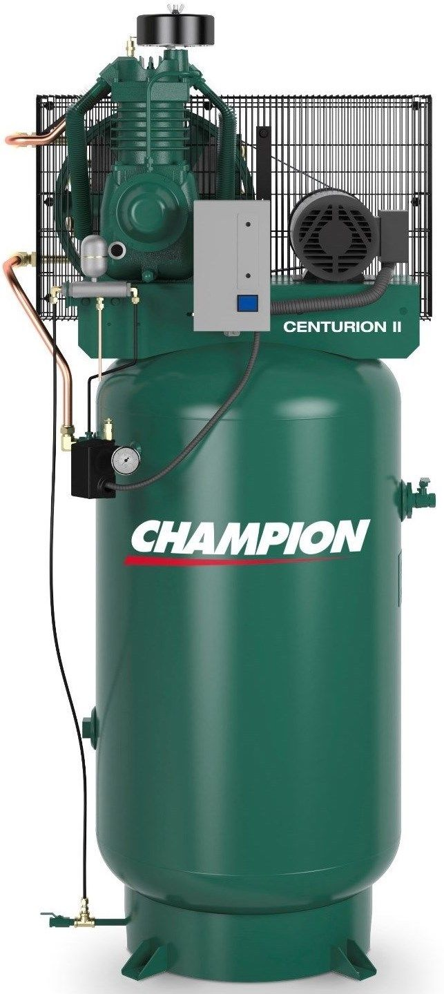 Champion 5 HP 2 Stage 1 Phase Air Compressor VRV5-8 Full Package USA Made!
