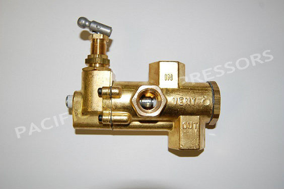 Universal Unloader Valve For Gas Powered Air Compressors