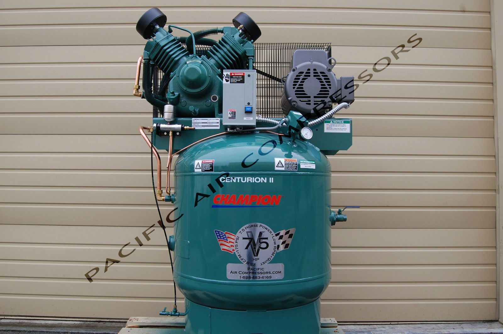EXTREME DUTY 7.5 HP AIR COMPRESSOR ...