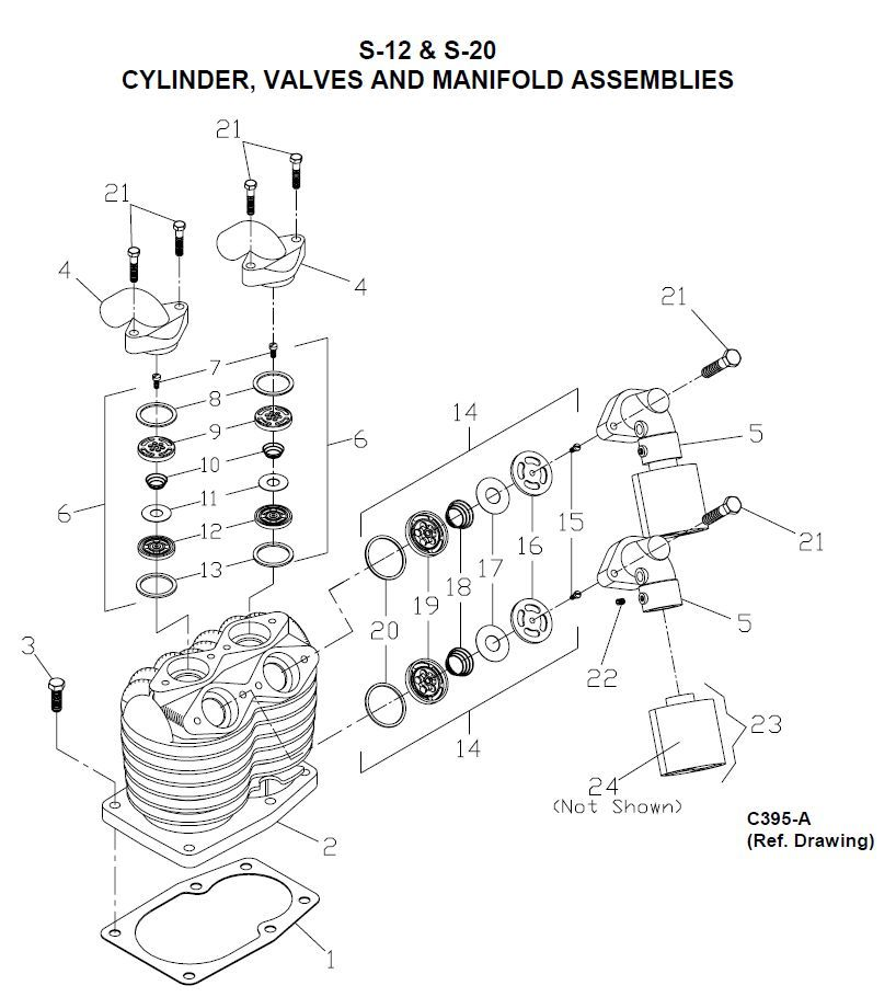 valves and valve springs diagram