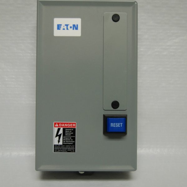 Eaton magnetic motor starter 5hp 230 volt single phase for 5 hp single phase motor