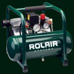 Rolair-1HP-Oil-free-Hand-Carry-Portable-Electric-Air-Compressor-PAJC-10-Oil-less-270799799375
