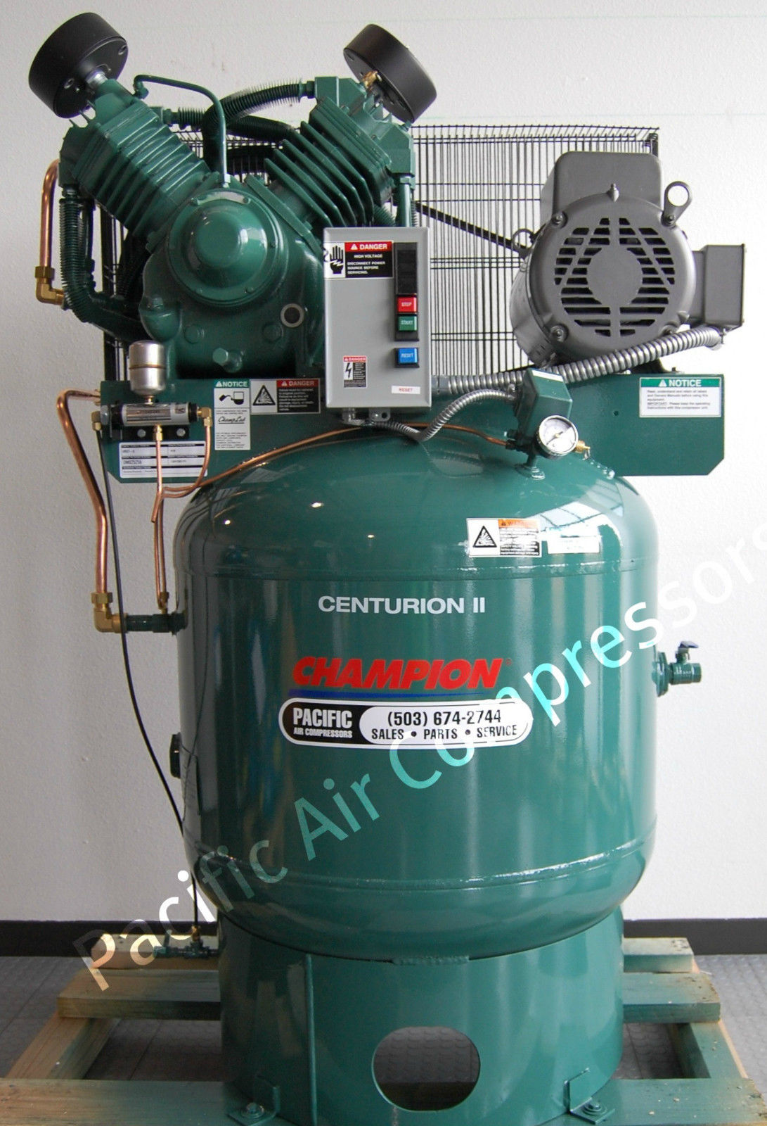 two stage air compressor pump