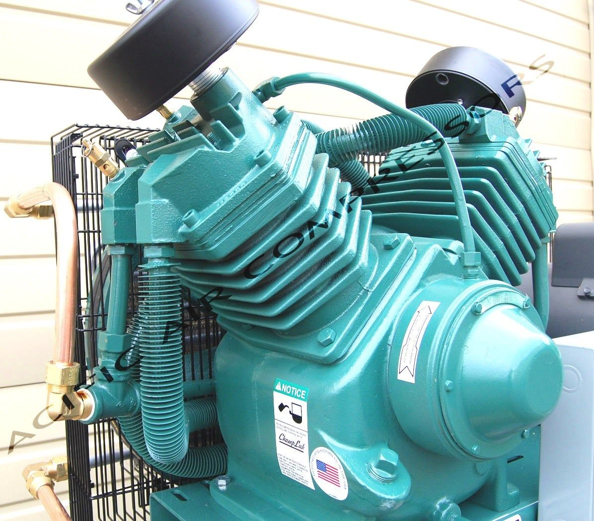 The Best 7 5hp Two Stage Single Phase 80gal Vertical