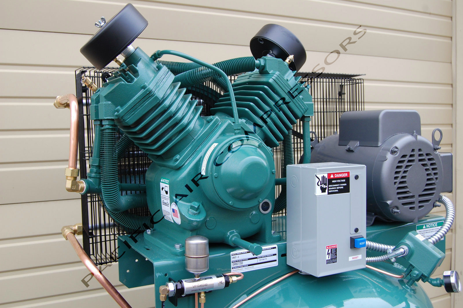 Cp rcp7581vs replacement 7 5hp air compressor factory for Air compressor pump and motor replacement