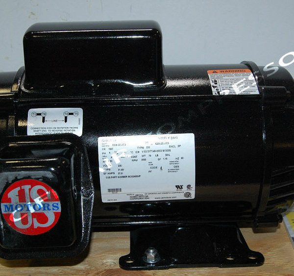 Mc024500ip campbell hausfeld husky 7 5hp air compressor for Air compressor motor troubleshooting