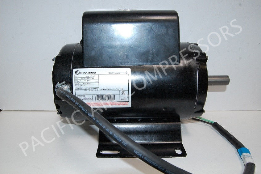 P09954a champion compressor motor 5 hp 3450 rpm 56y frame for Air compressor motor troubleshooting
